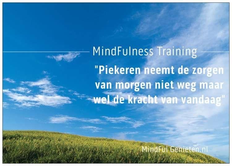 mindfulness training amersfoort mindful genieten