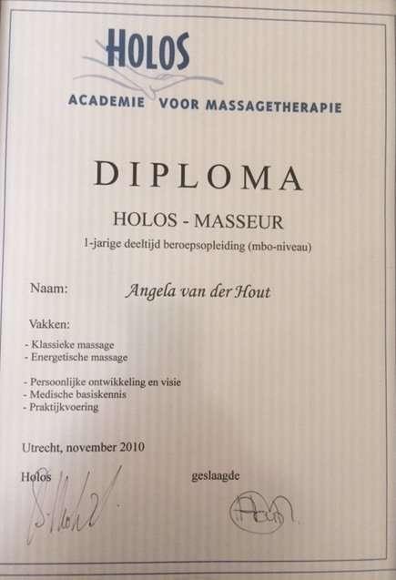 Holos masseur