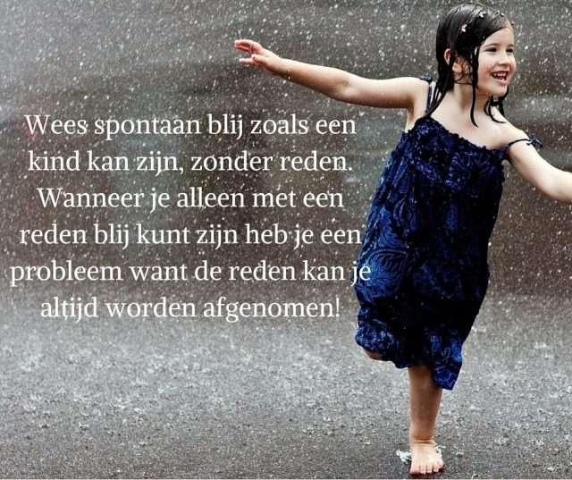 Spontaan kind | Mindful genieten