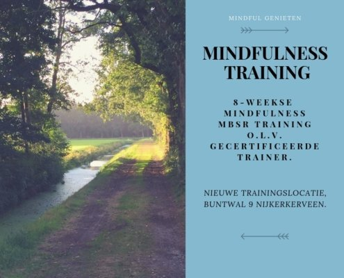 MINDFUL-GENIETEN-MindFulness training MBSR