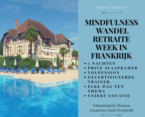MindFulness wandel retraite week-MindFul Genieten